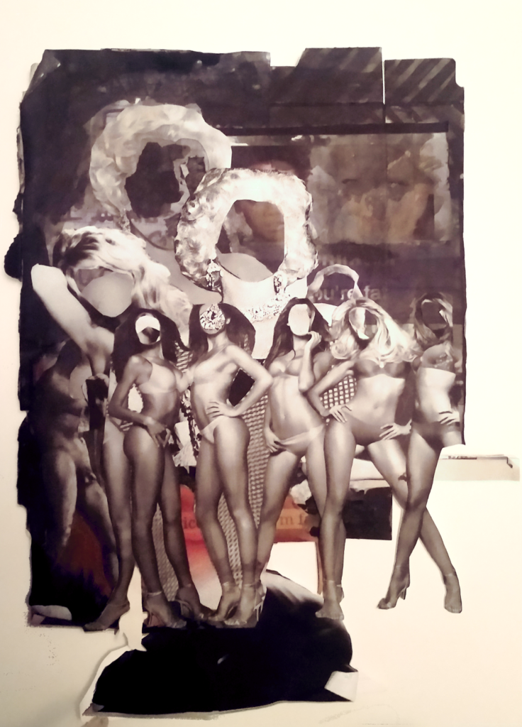 Being Sexy  Collage, 2015