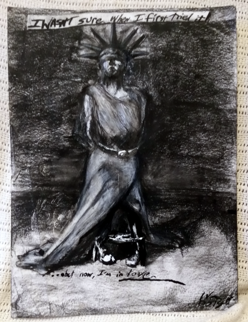 Charcoal on Paper, 2015